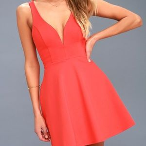 Red lulus homecoming dress